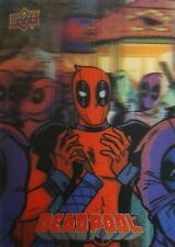2019 Upper Deck Deadpool Trading Card LENTICULARS 3-D 17 DEADPOOL PARTY