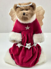"Boyds Bears Vintage 12"" Alina the Christmas Angel Tree Topper ~ Best Dressed"