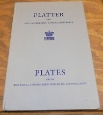 1970 Book /// PLATES FROM THE ROYAL COPENHAGEN PORCELAIN MANUFACTORY