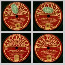PHILADELPHIA ORCH. & STOKOWSKI Bach: Passacaglia in C-moll; 2 Platten 78er GS221