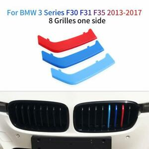 BizTech® Clip In Grill inserts Stripes For BMW 3 Series F30 F31 F35 M Power