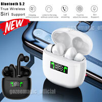 Bluetooth Headset True Wireless Stereo Headphones Earphone Earbuds Sweatproof