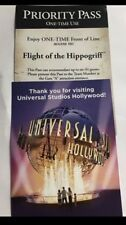 Universal Studios  Priority Pass Flight Of The Hippogriff