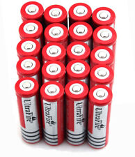 20pcs 18650 3.7v 4200mah Rechargeable Li-ion Battery Red Batteries USA Stock