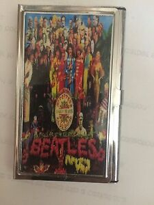 Beatles Sargent Peppers Lonely Hearts Club Business Credit Card Holder Case