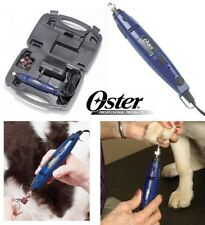 Oster PROFESSIONAL GROOMER Nail Grinder KIT w/CASE,Bands+ Dog Cat GROOMING Nails