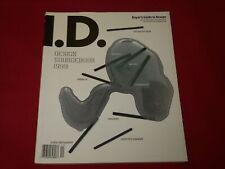 1998 DECEMBER I-D MAGAZINE - DESIGN SOURCE BOOK - FASHION- RC 539