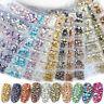 Crystal Glass Gems Flatback Nail Art Decoration Rhinestones Mix Glitter Stones
