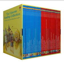 The Usborne Reading Collection 40 Children Books Set BOXSET Learn to Read 1