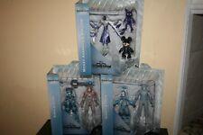 Diamond Select Toys Kingdom Hearts Series 3 Goofy Tron Black Coat Lot Figure New