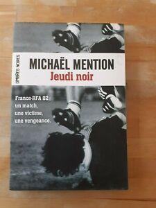 Michaël Mention - Jeudi noir - Ombres noires (Thriller/Sport)