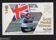 2012 SG 3356 1st Olympic Gold Medals Winners - Ben Ainslie – Sailing