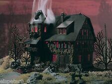 Vollmer 47679, Villa Vampir mit rotem Flackerli, N Zubehör Gebäude Bausatz 1:160