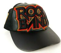 Rock Band Video Game 3D Logo Cap Hat Black Trucker Snapback Xbox Playstation