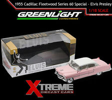 GREENLIGHT 12950 1:18 1955 CADILLAC FLEETWOOD SERIES 60 ELVIS PRESLEY