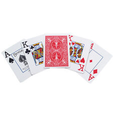 Bicycle Low Vision Playing Cards - Standard Size - Poker Cards - Red