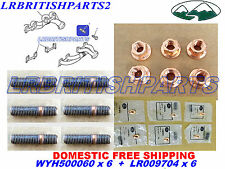 LAND ROVER EXHAUST MANIFOLD STUD / NUT DISCOVERY DEFENDER RANGE ROVER CLASSIC