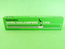 Rare Original Subbuteo Set C.102 Diving Goalkeepers MIB