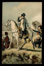 Postkarte Chrom-post Karte-Karten Bestellung- Napoleon am wagram