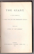 Elizabeth Sewell -The Giant, A Witch's Story - 1st/1st 1871 - RARE Supernatural