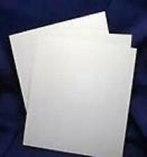 3 SHEETS WHITE PLASTIC SHEET / PLASTICARD 2.0mm (80 Thou) THICK EXPO 56080