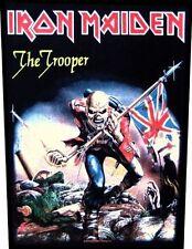 IRON MAIDEN - Rückenaufnäher Backpatch The trooper