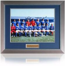 "Ipswich 1973 Hand signed 16x12"" Texaco Cup Winners Teamgroup photo AFTAL COA"