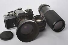 Minolta xd-7 + Minolta MD 1,7/50 + TOKINA 4/25-50 + TOKINA 5,6/100-300