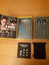 Jabra Grey Blue Sport Coach Special Edition Bluetooth Wireless In Ear Earphones