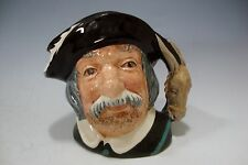 "Royal Doulton Porcelain Small Toby Jug D6461 ""Sancho Panca"" 4""H - England"