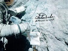 More details for charlie duke apollo 16 lmp astronaut signed autograph 10x8 photo 4 coa aftal