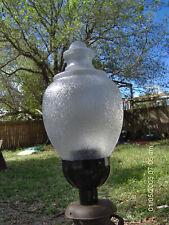 36 inch Post Lamp Light Globe Clear Acorn