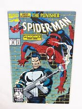 Spider-Man The Punisher Vengeance Part One #32 March 1993 Marvel