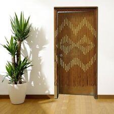 Wooden Door Curtain Bamboo Beaded Fly Screen 90X180cm Curtain Bead Home Decor