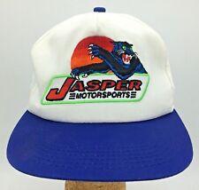 Vintage Jasper Motorsports Greg Sacks #77 K Products Made in USA Snapback Hat