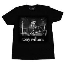 Tony Williams Portrait Mens T Shirt Original 1967 Jim Marshall Photo Miles Davis