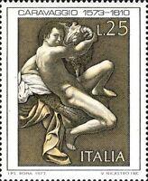 # ITALIA ITALY - 1973 - Caravaggio - Art Painting - Stamp MNH
