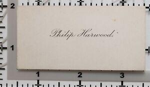 Antico Calling Card Philip Harwood