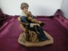 Vintage Norman Rockwell Bed Time Authentic Figurine Americana Limited Edition