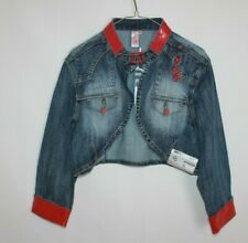 Pepe Jeans London Women's Mini Jacket Style Maria 45239L Dark Karma Size XL NWT