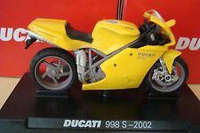 Ducati 998 S - 2002 Gelb   - NEUHEIT -   1:24