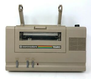 COMMODORE Computer Color Plotter VIC-1520 Printer 1520 *Tested & VGC*
