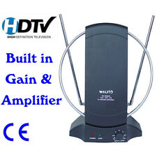 Digital Indoor TV Antenna HDTV Aerial AR-468AW (B)