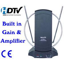 Digital Indoor Television TV Antenna  Dishes HDTV Aerial VHF/UHF/FM