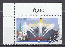GERMANY used 1989 SC#  Nr 1575  800th anniv. of Hamburg Harbor
