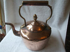 Large Antique Copper & Brass Kettle -  William Soutter & Sons 1907. Art Nouveau