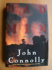 John Connolly Bad Men 1st US HC SIGNED Near Fine / Near Fine