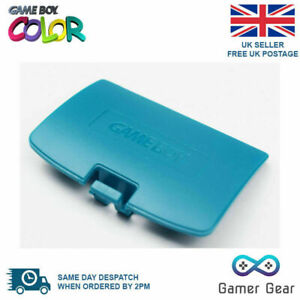 Nintendo Game Boy Color Colour GBC Battery Cover Gameboy Turquoise