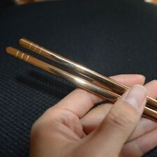 Titanium Chopsticks Screw apart Metal Tableware hollow portable travel camping