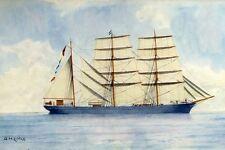MAID OF JUDAH Aberdeen-White Star Line built 1852 modern digital Art Postcard